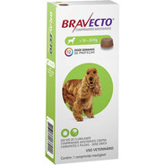 Antipulgas Bravecto Para Cães De 10 A 20 Kg