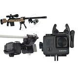 Sportmans Mount For Gopro Gun Mount For Rifle Hunting Paintb