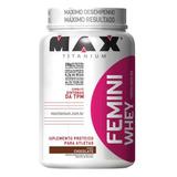Femini Whey Mulher - 900g - Max Titanium