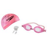 Kit 3 Em 1 Speedo Swim 2.0 Rosa