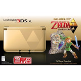 Nintendo 3ds Xl Zelda Edition Con 2 Juegos