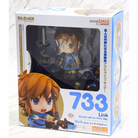 Boneco Link Nendoroid Zelda Breath Of The Wild 733 Original
