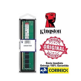 Memoria 8gb Ddr4 2400 Kingston Kvr24n17s8/8 Original Desktop