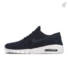 Zapatillas Nike Sb Janoski Max Azules Nuevo Modelo 2018