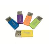 Adaptador De Memoria Micro Sd A Usb Varios Colores