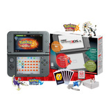 Nintendo New 3ds Xl Negro + 64gb / Pokemon Ultra + Cargador