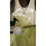 Vestido De Princesa Y El Sapo Original Usa