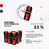 Cerveza Importada Oranjeboom 8,5% Lata X 500 Ml - Holanda