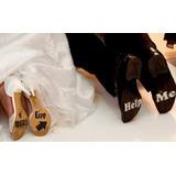 Adesivos Divertidos Sapato Noiva E Noivo