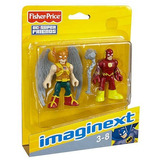 Imaginext Hawkman Y Flash Fisherprice Dc Super Friend