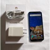 Huawei P20, Lite, Ane-lx3, 4gb+32gb, Azul, Impecable,en Caja