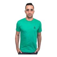 Camiseta Basic Lobo Verde C014