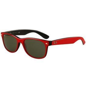 Ray Ban Wayfarer Receta Color Rojo - Anteojos en Mercado Libre Argentina 708baea3c1