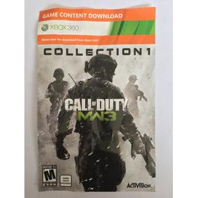 Codigo De Contenido Para Call Of Duty Mw3 Xbox 360
