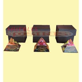 Piramides Acrilico Con Dibujo En Base Feng Shui