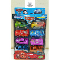 8 Carrinhos De Brinquedo Filme Carros 2 Mcqueen Cars