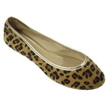 Sapatilha Sapato Feminina Fechada Silvia Fashion Muito Linda