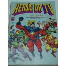 Heróis Da Tv 11 De 1980 Gibi Antigo Raro Abril Quase Banca