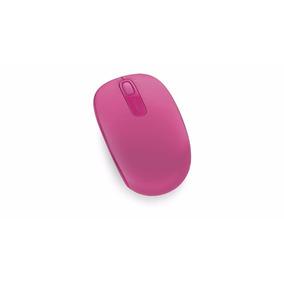 Mouse Inalámbrico Microsoft 1850 Fucsia