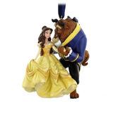 Enfeite Bela E A Fera Para Arvorde De Natal Disney