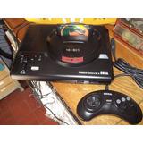 Sega Megadrive 2 Model 1 Con Juego A Elegir Y Control