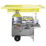Carrinho 5 Em 1 Pastel, Lanche, Churrasco, Hot Dog E Batata