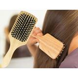 Cepillo Para Cabello Enrredado Cepillo De Bambu Y Madera
