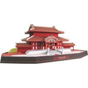 Maqueta Japón Castillo De Shuri (para Armar En Papel)