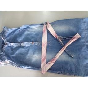 Vestido De Jeans Tommy Hilfiger Talla 6