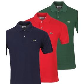 b36745e4db090 Camisa Lacoste Homem Original Camiseta Polo Lacoste Ralph
