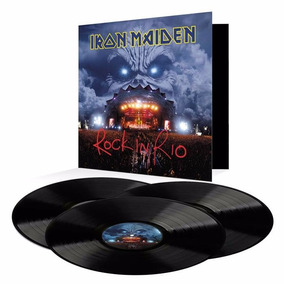 Iron Maiden Lp Rock In Rio 2017 Vinil Novo Pronta Entrega