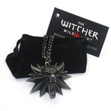 The Witcher 3 Genial Medallon Collar Dije Envio Gratis