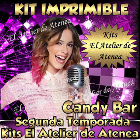 Kit Imprimible Candy Bar Violetta 2° Temporada - Golosinas