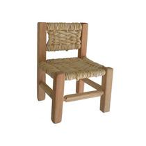 Mini Cadeira De Palha Cadeirinha De Boneca
