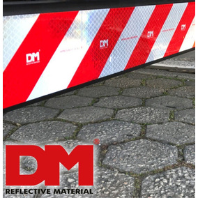 Faixa Refletiva Dm Parachoque Caminhão - (padrão 3m)