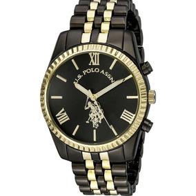 U.s. Polo Assn. Reloj Casual De Cuarzo Para Mujer