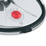 Borracha Panela Pressão Clock Control 4,5 Lts Guamantec