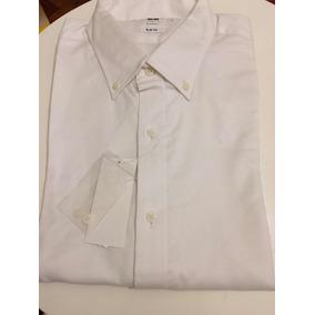Camisa Slim Fit Marca Uniqlo Originale Talle M