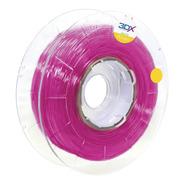 Filamento Pla Ht Rosa Translucido 1,75 Mm   500g 3dx