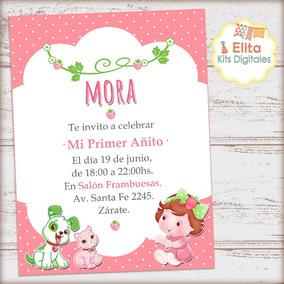 Kit Imprimible Frutillita Bebé Decoración Cumpleaños Nena