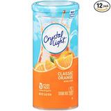 Crystal Light Mix, Naranja Clásico Bebida Con Vitamina C Y C
