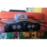 Nintendo 64 Usado, Con 3caset,controles Y Todos Sus Cables