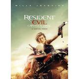 Pelicula Resident Evil 6 Capitulo Final Nuevo Cerrado