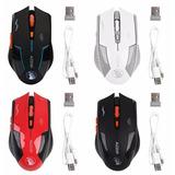 Mouse Inalámbrico Recargable !! 2400 Dpi Gamer- Uso Diario