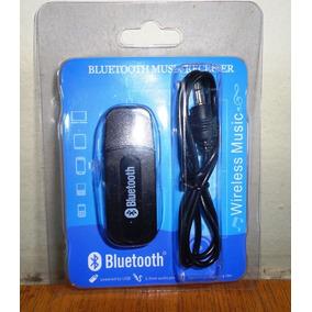 Adaptador De Áudio Via Bluetooth Musica Sem Fio Para Veiculo