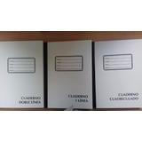 Cuaderno Empastado Pequeño Blanco De 80 Hojas 160 Paginas