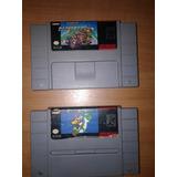 Combo Juegos De Super Nintendo