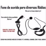 Fone Ouvido Rádio Ht Baofeng Motorola Kenwood Talkabout Rick