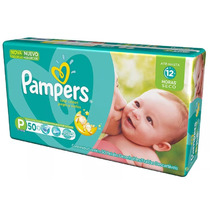 Fralda Pampers Total Confort P C/ 300 Tiras