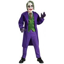 Disfraz Para Niños Traje Joker Deluxe - Pequeño
